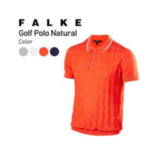 팔케 Men GO Polo Natur m Shortsleeved