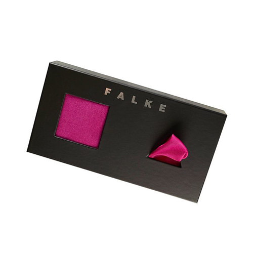 FALKE Airport Pocket Square GIFT set - ARCTIC PINK